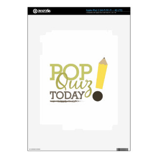 Pop Quiz Today Skins For iPad 3