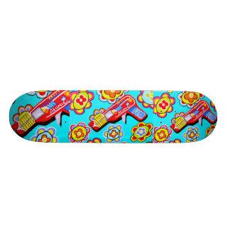 pop ray gun skateboard