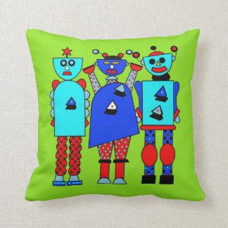 pop Robots Pillow