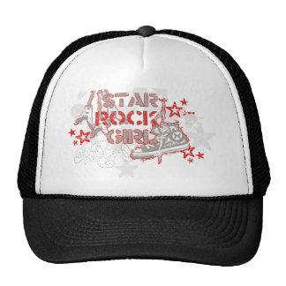 Pop Rock Guitar Mesh Hats