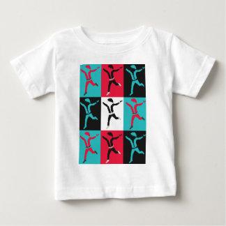 Pop Santa Christmas Art Collection Baby T-Shirt