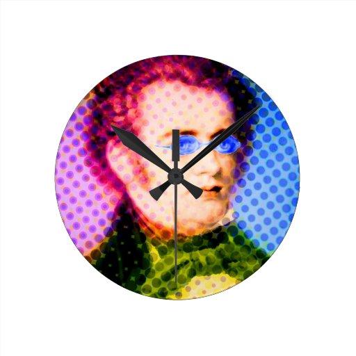 Pop Schubert Round Clocks