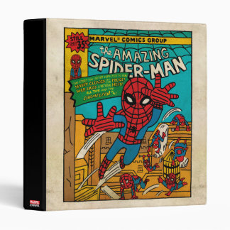 Pop Spider-Man Comic Cover #186 3 Ring Binder