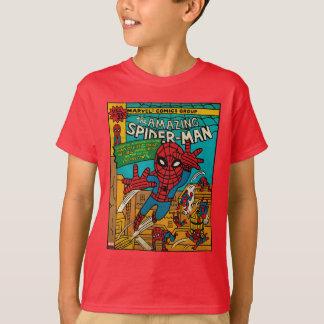 Pop Spider-Man Comic Cover #186 T-Shirt