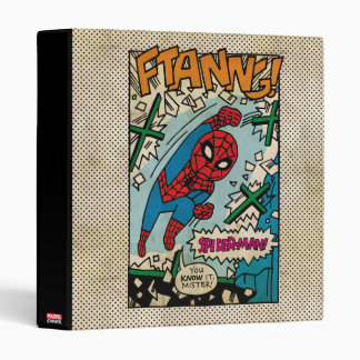 Pop Spider-Man Comic Strip Binder