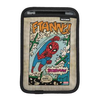 Pop Spider-Man Comic Strip iPad Mini Sleeve