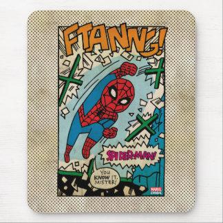 Pop Spider-Man Comic Strip Mouse Pad