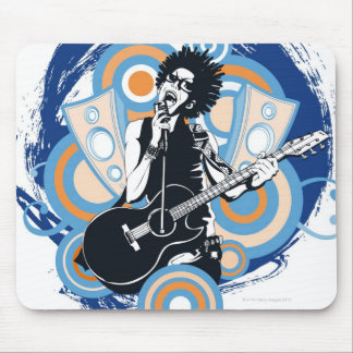 Pop Star Mouse Pad