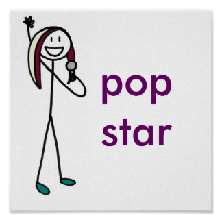 Pop Star Posters