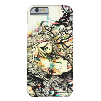 pop surreal art, watercolor and ink art, iPhone 6 Barely There iPhone 6 Case