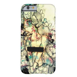 Pop surreal, watercolor and ink art iPhone 6 case