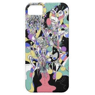 Pop Tech Girl iPhone SE/5/5s Case