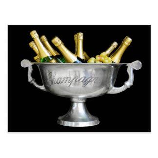 Pop the Cork, Celebrate Champagne! Postcard