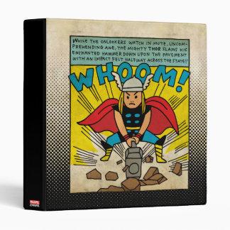 Pop Thor Comic Strip 3 Ring Binder