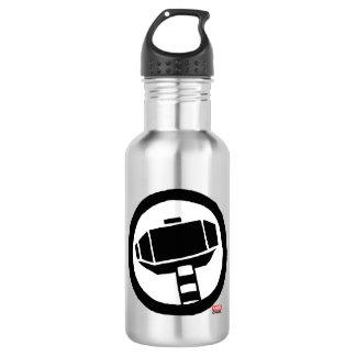 Pop Thor Hammer Icon Water Bottle