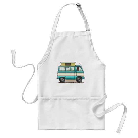 Pop Top Van Camper Adult Apron
