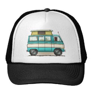 Pop Top Van Camper Trucker Hats
