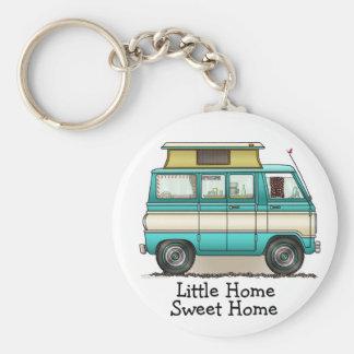 Pop Top Van Camper Keychain