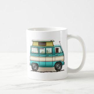 Pop Top Van Camper Classic White Coffee Mug
