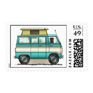 Pop Top Van Camper Postage