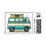 Pop Top Van Camper Postage Stamp
