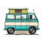 Pop Top Van Camper Postcard