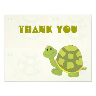 Pop Turtle Thank You Notes Invite