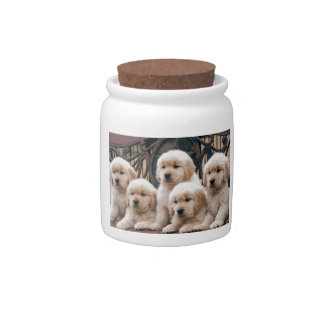 Pop Up! Puppies Candy Dish