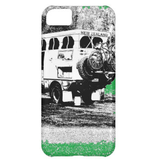 Pop Up RV on Green Case For iPhone 5C