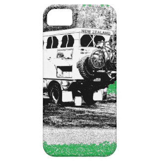 Pop Up RV on Green iPhone 5 Case
