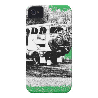 Pop Up RV on Green iPhone 4 Covers