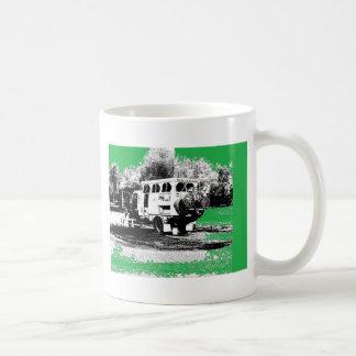 Pop Up RV on Green Coffee Mug