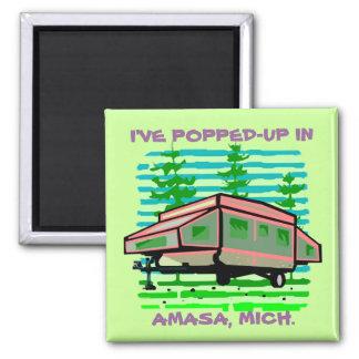 POP-UP TRAILER CAMPER MAGNET-I'VE POPPED-UP IN..! MAGNET