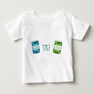 Pop vs Soda Baby T-Shirt