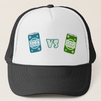 Pop vs Soda Trucker Hat