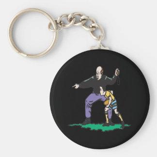 Pop Warner Coach Keychain