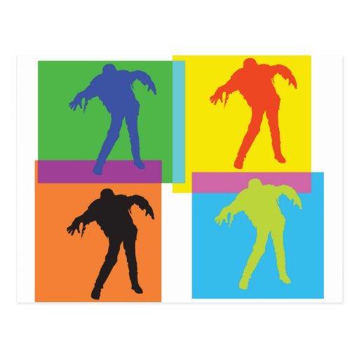 pop zombie pt2 light postcard