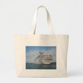 Popa del barco de cruceros de la sensación del car bolsa