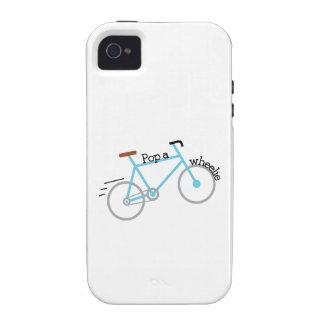 Popa Wheelie Vibe iPhone 4 Cases