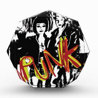 Popart alternative music fashion hairstyles acrylic award