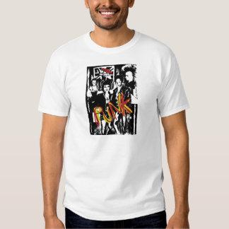 Popart alternative music fashion hairstyles shirts
