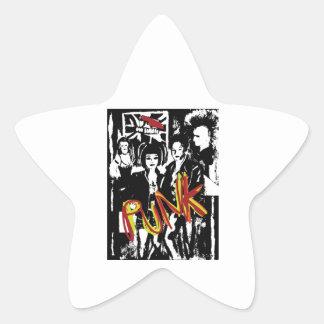 Popart alternative music fashion hairstyles star sticker