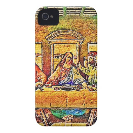 PopArt da Vinci iPhone 4 Case-Mate Case