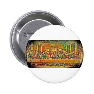 PopArt da Vinci Pinback Button