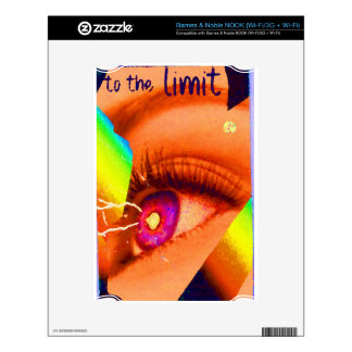 PopArt Eye Lightning To The Limit Energy Power Decal For The NOOK