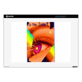 PopArt Eye Lightning To The Limit Energy Power Skin For Laptop