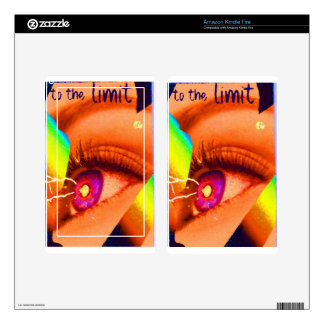 PopArt Eye Lightning To The Limit Energy Power Decal For Kindle Fire