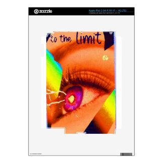 PopArt Eye Lightning To The Limit Energy Power iPad 3 Skins