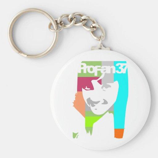 popart girl key chains