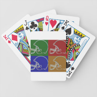 PopArt Helmet Poker Karten
